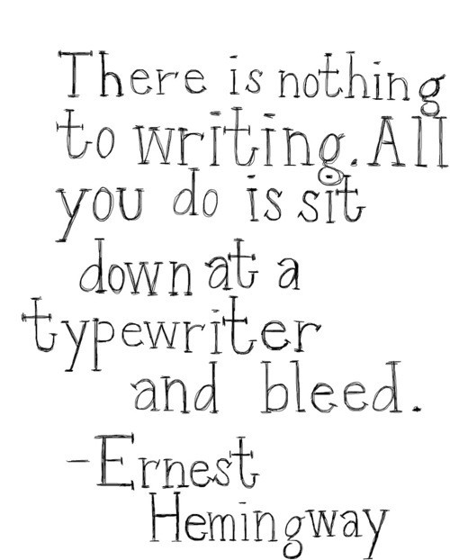 Writer Quote 19 Picture Quote #1