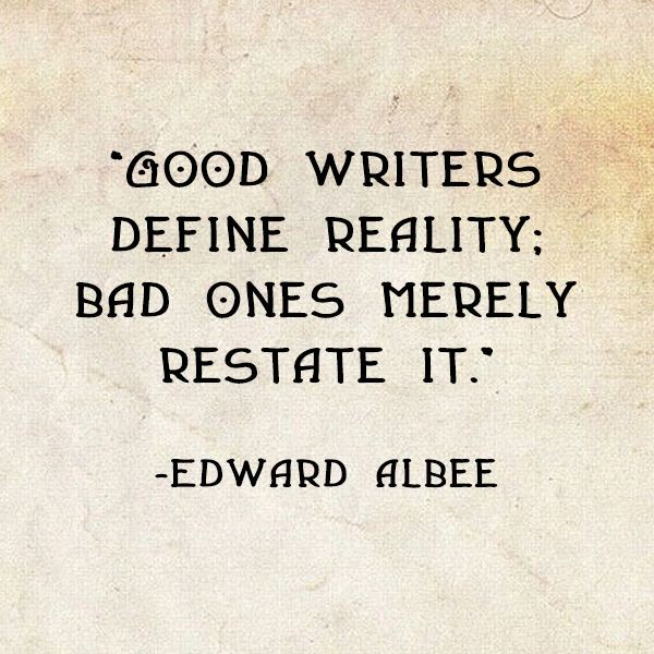 Good Writer Quote 2 Picture Quote #1