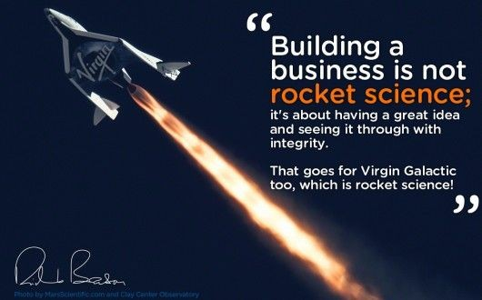Richard Branson Business Building Quote 1 Picture Quote #1