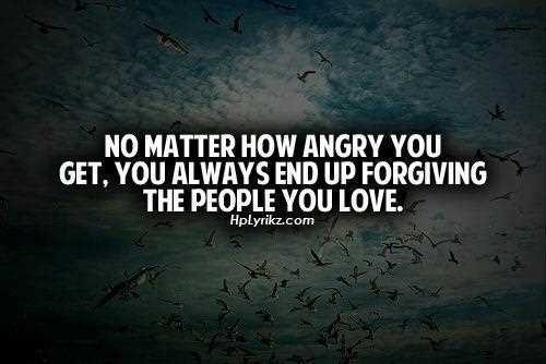 Angry Love Quote 1 Picture Quote #1