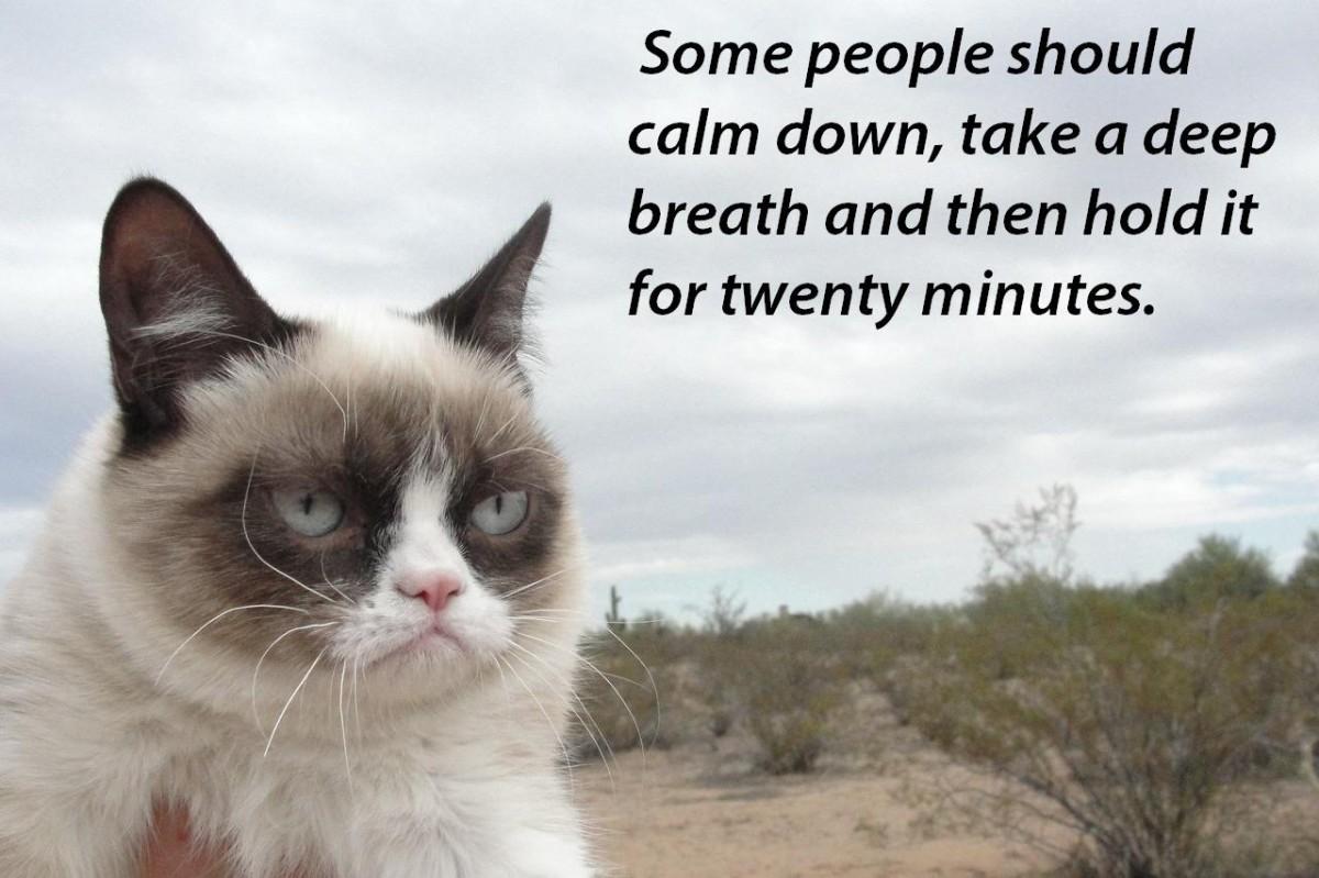 Calm Down Quote 11 Picture Quote #1