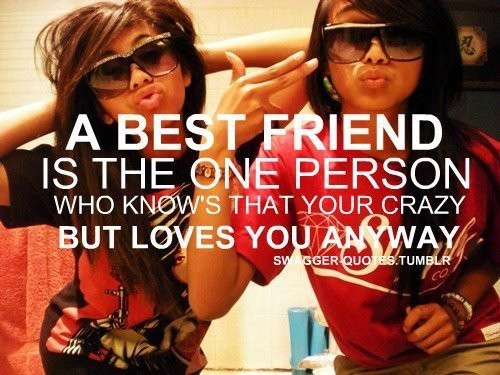 I Love My Crazy Best Friends Quote 3 Picture Quote #1