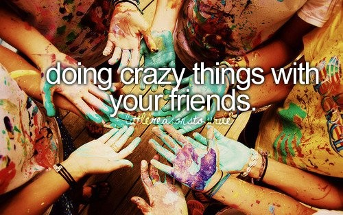 Crazy Best Friend Quote 1 Picture Quote #1