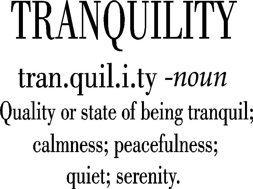 Peace And Tranquility Quote 4 Picture Quote #1