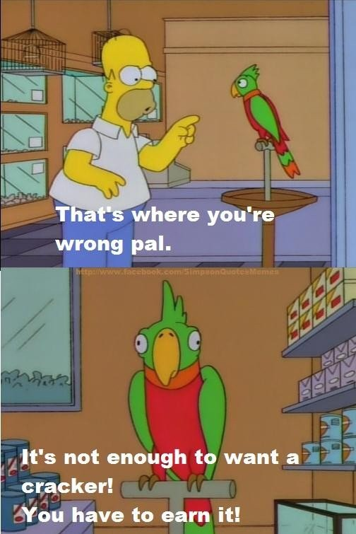 Funny Simpsons Quote 1 Picture Quote #1