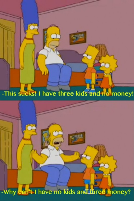 Funny Simpsons Quote 2 Picture Quote #1