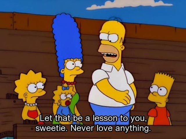 Funny Simpsons Quote 6 Picture Quote #1