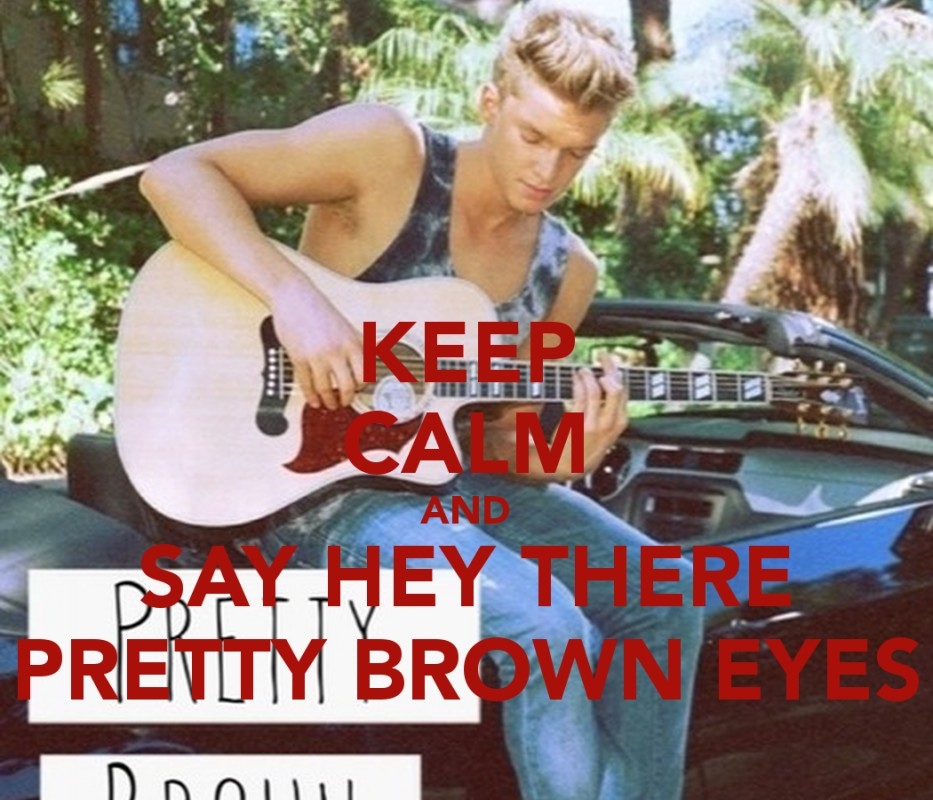 Pretty Brown Eyes Quote 1 Picture Quote #1