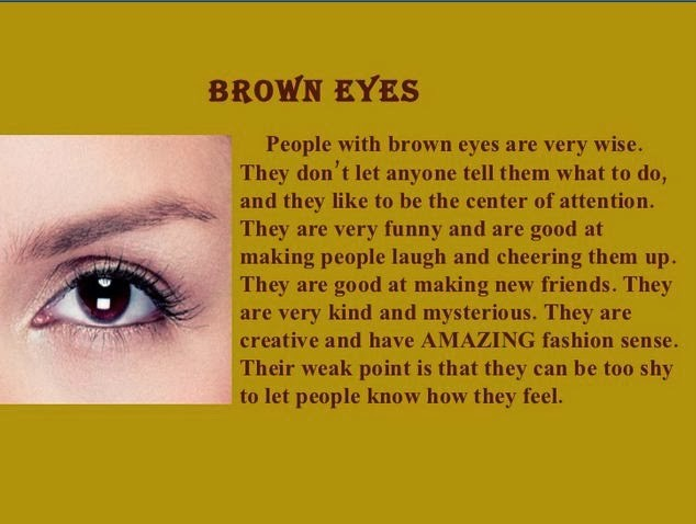 Brown Eyes Quote 3 Picture Quote #1