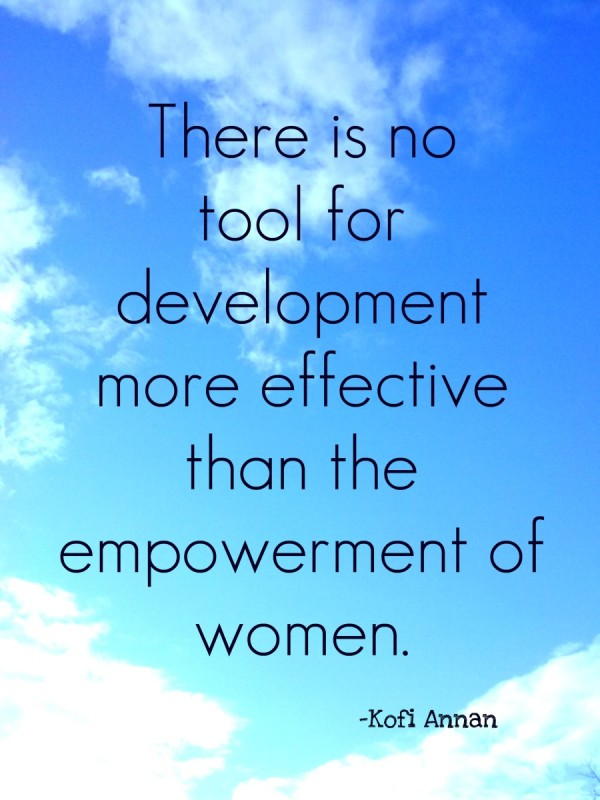 Empowering Women Quote 1 Picture Quote #1