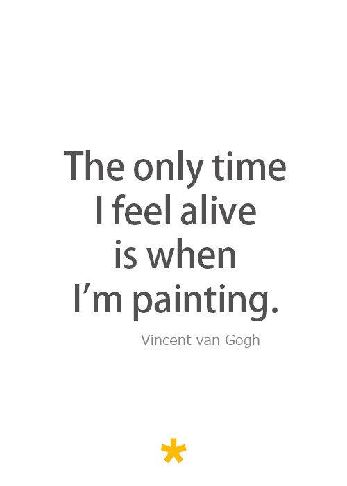 Van Gogh Famous Art Quote 1 Picture Quote #1