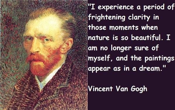 Van Gogh Famous Art Quote 2 Picture Quote #1