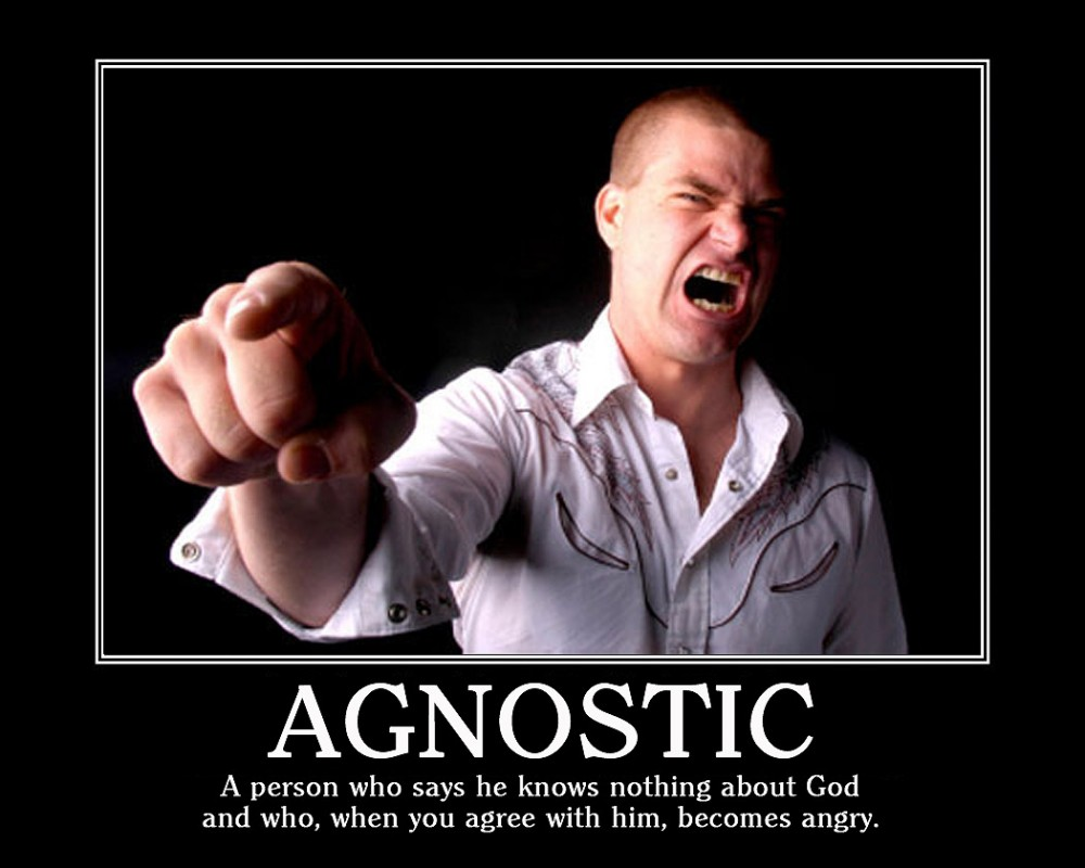 Agnostic Quote 9 Picture Quote #1