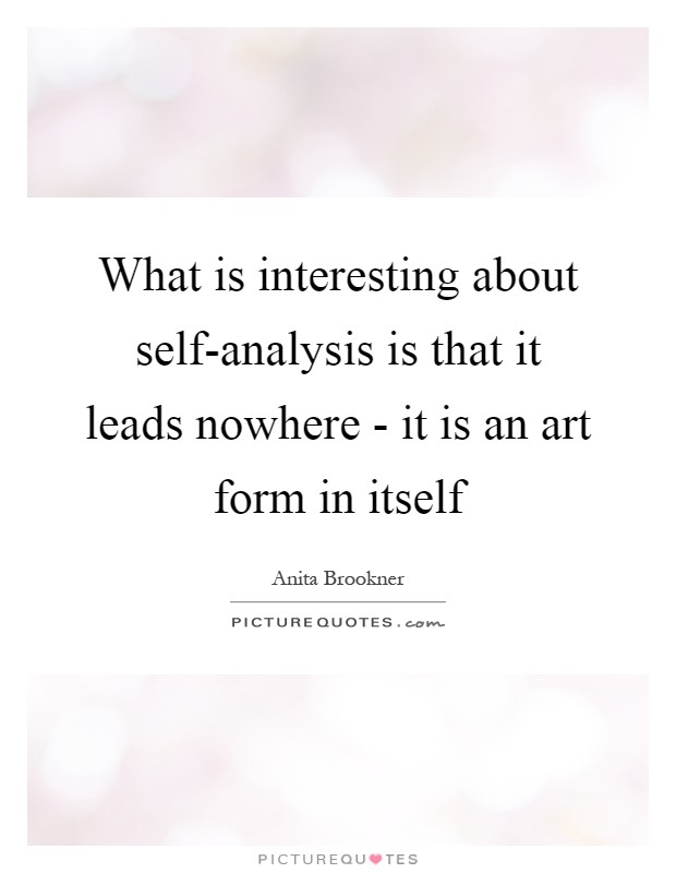 Art Analysis Quotes  Sayings  Art Analysis Picture Quotes