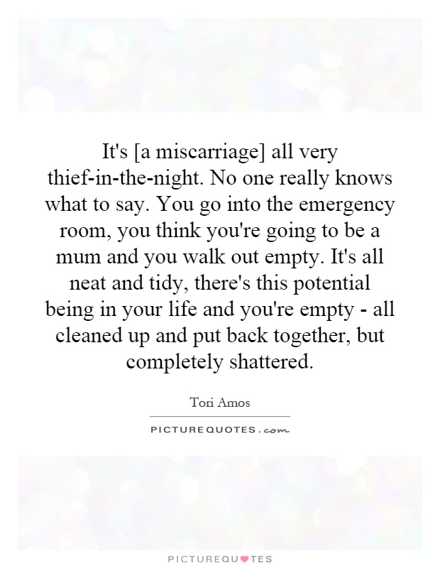 Quotes About Miscarriage Unique It's A Miscarriage All Very Thiefinthenightno One Really