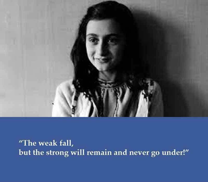 anne frank s message of accountability
