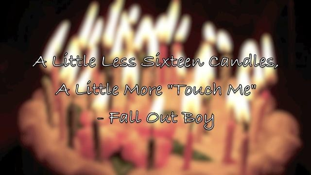 Fall Out Boy Quote 1 Picture Quote #1