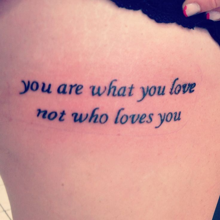 Tattoo Quote Fall Out Boy 1 Picture Quote #1