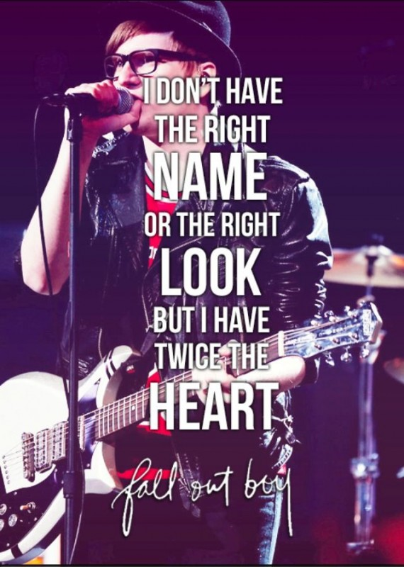Fall Out Boy Quote 3 Picture Quote #1