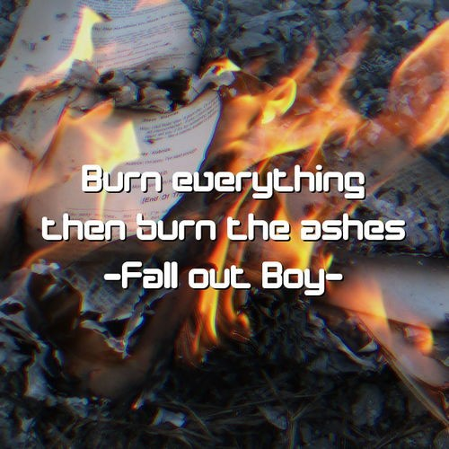 Fall Out Boy Quote 7 Picture Quote #1