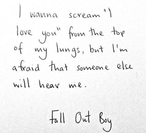 Fall Out Boy Quote 10 Picture Quote #1