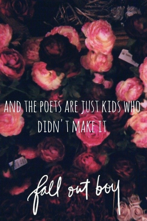 Fall Out Boy Lyric Quote 2 Picture Quote #1