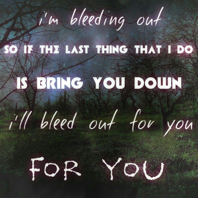Bleeding Out Imagine Dragons Quote 1 Picture Quote #1