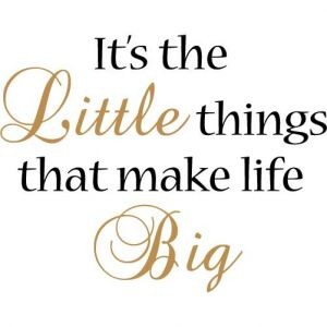 Little Things Matter Quote 2 Picture Quote #1