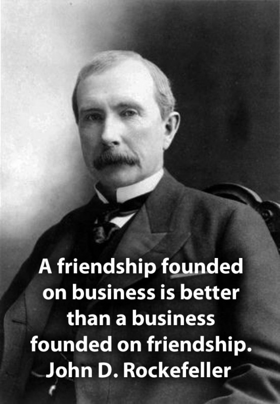 Famous Business Quote 4 Picture Quote #1