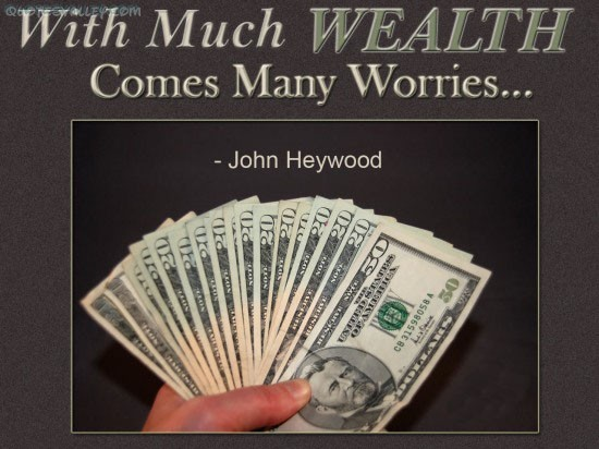 Wealth Quote 2 Picture Quote #1