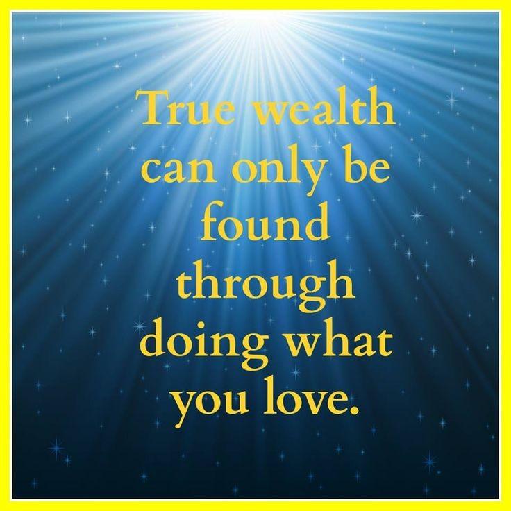 True Wealth Quote 2 Picture Quote #1
