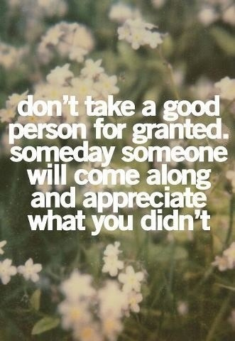 Dont Take For Granted Love Quote 3 Picture Quote #1