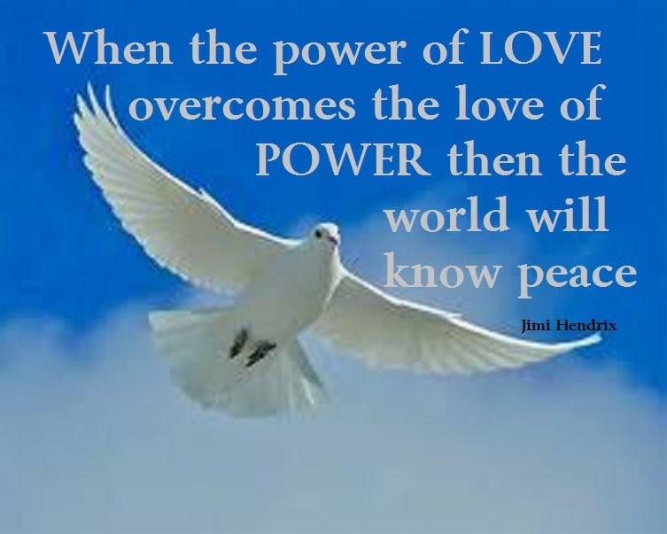 Quote About Peace And Love Impressive Peace And Love Quotes & Sayings  Peace And Love Picture Quotes