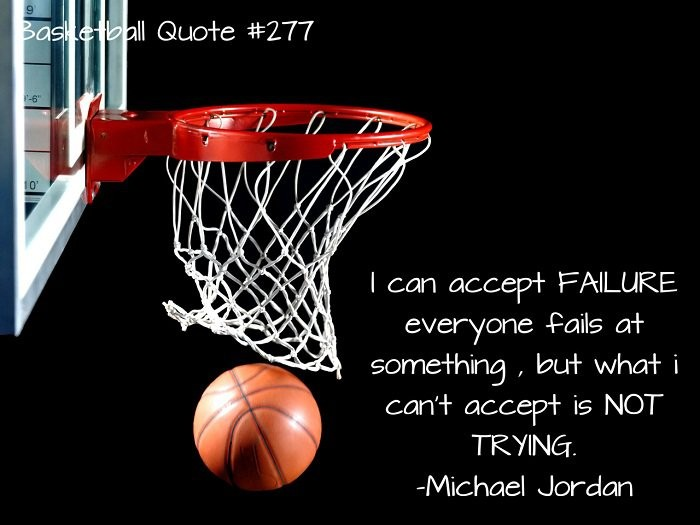 Motivational Basketball Quote 4 Picture Quote #1