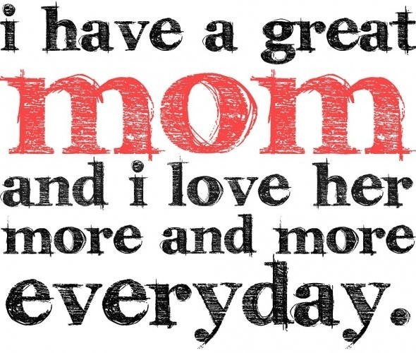 Mom Quote From Son 1 Picture Quote #1