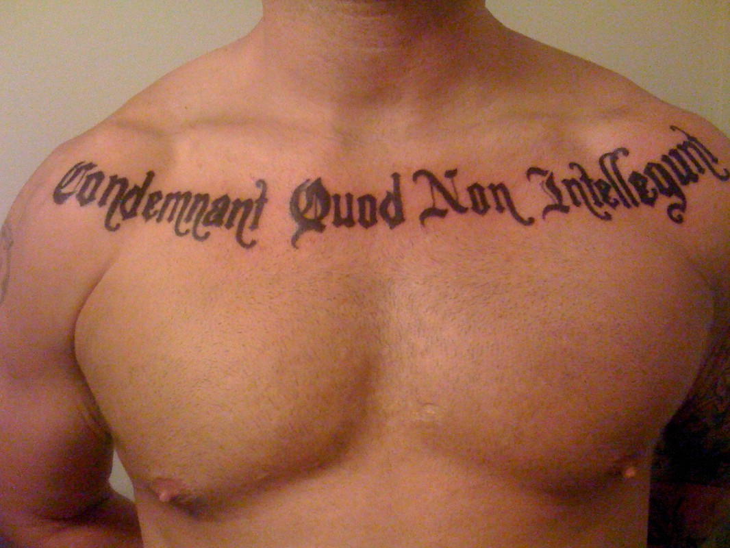 Latin Quote For Tattoos