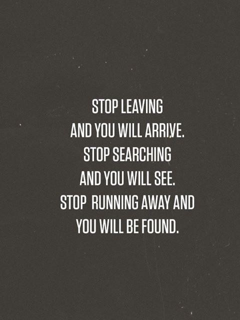 Running Away Quote 11 Picture Quote #1