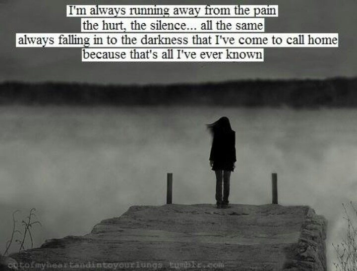 Running Away Quote 21 Picture Quote #1