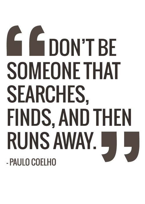 Running Away Quote 27 Picture Quote #1