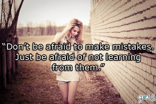 Not Learning From Mistakes Quote 1 Picture Quote #1