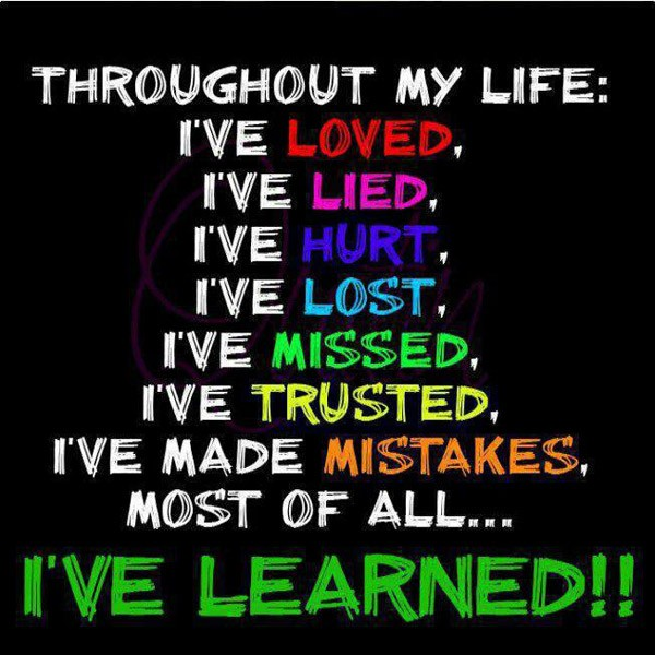 Learning From Mistakes Quote 1 Picture Quote #1