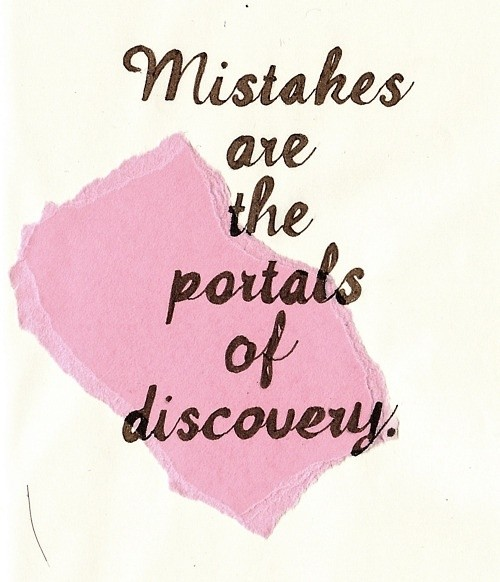 Learning From Mistakes Quote 3 Picture Quote #1