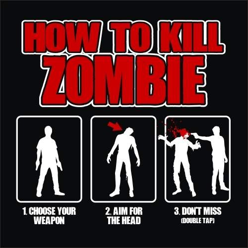 Zombie Killing Quote 1 Picture Quote #1