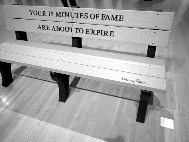 15 Minutes Of Fame Quote 1 Picture Quote #1