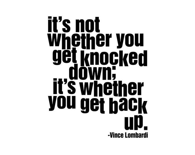 Getting Back Up After Falling Quote 2 Picture Quote #1