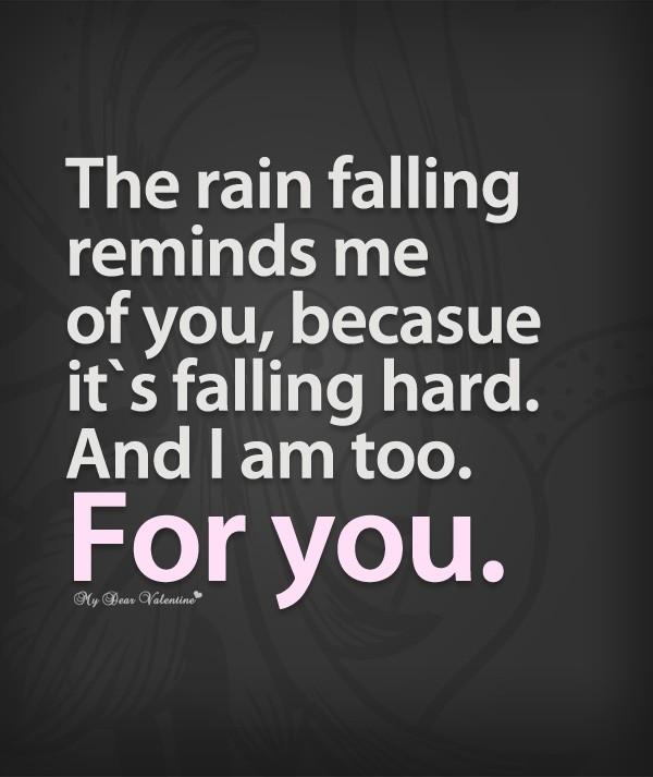 Rain Falling Quote 1 Picture Quote #1