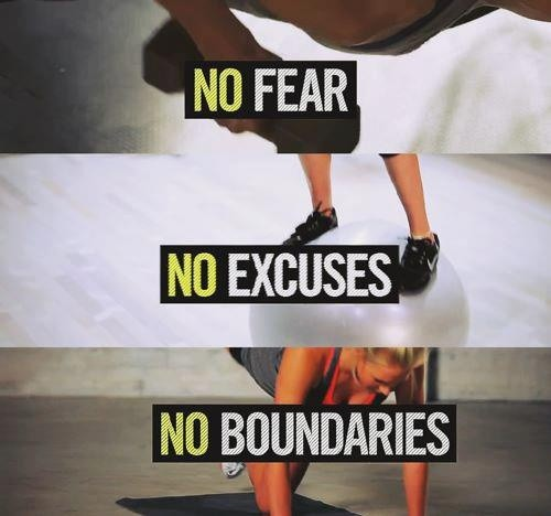 No Fear Exercise Quote 1 Picture Quote #1