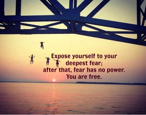 No Fear Quote 4 Picture Quote #1