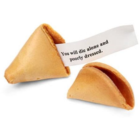 Bad Fortune Cookie Quote 1 Picture Quote #1