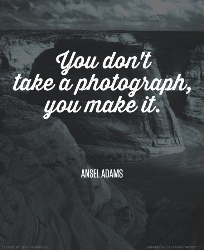 Famous Photography Quote 1 Picture Quote #1